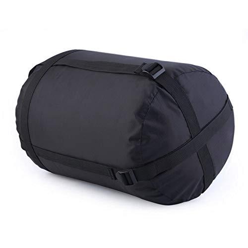 Générique Sac de Couchage à Compression léger Pliable pour Camping, randonnée, Sac de Couchage (Couleur : Noir)