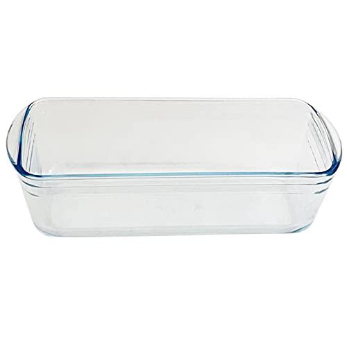 Ôcuisine - Molde de vidrio rectangular, con capacidad de1,5 litros,y con medidas...