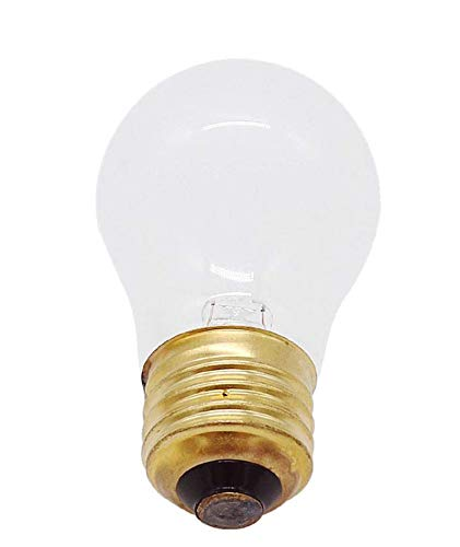 AMI PARTS 8009 Bulb 40w 130v Replacement Light Specially Designed to Withstand Extreme Temperatures Often Used to Light The Inside of Refrigerators and Ranges (1pc)