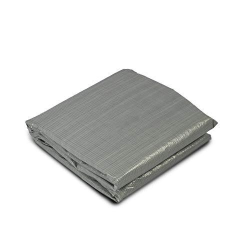 EXIT - Bodenfolie für Pools - 380x380cm, quadratisch, grau, Poolzubehör, universal, verlängert die Lebensdauer des Pools