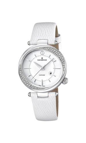 Candino Damen-Armbanduhr Analog Quarz Leder C4532/1