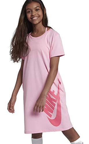 Nike Mädchen T-Shirt, rosa, L - 147-158 cm