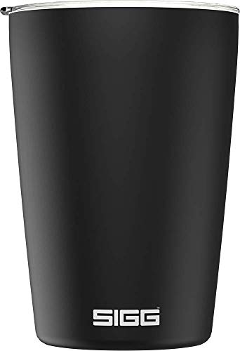 Sigg Neso Cup Black Taza térmica, Negro, 0.3 L
