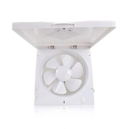 GAXQFEI Cocina Windows Intercambiador de Aire Avión de Escape a Prueba de Agua, Ventilador Ventilador Baño Apertura de Garaje Y Montaje en Pared Emoción Fuerte para Mantener el Aire Fresco Circulando
