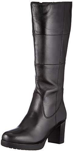 CAPRICE Damen 9-9-25610-25 040 Kniehohe Stiefel, Black Soft NAP, 37 EU