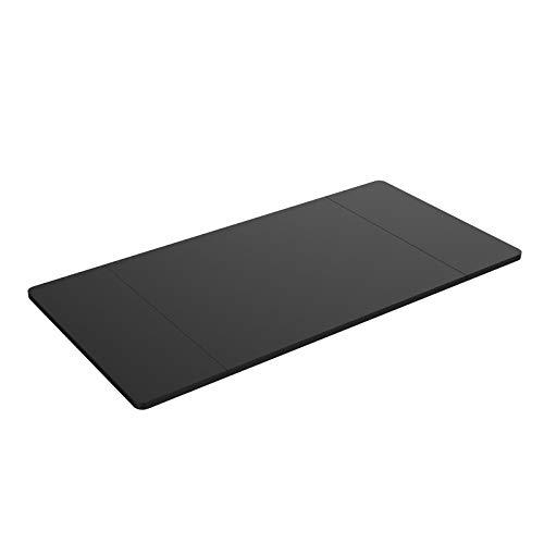 Flexispot stabile Tischplatte 2,5 cm stark - DIY Schreibtischplatte Bürotischplatte Spanholzplatte (160 x 80 cm, Schwarz)
