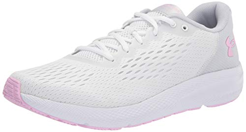 Under Armour Women's Charged Pursuit 2 Special Edition, White (101)/Halo Gray, 7 M US
