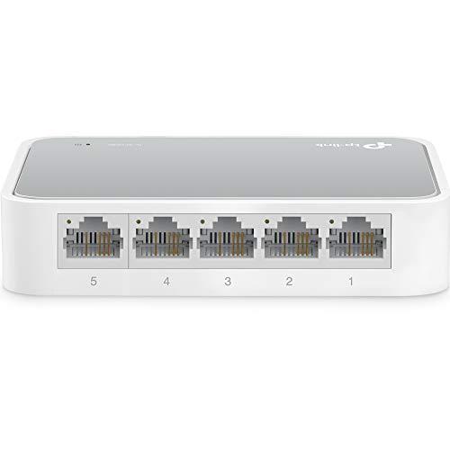 tp-link(ティーピーリンク)『5ポート 10/100Mbps デスクトップ スイッチ(TL-SF1005D)』