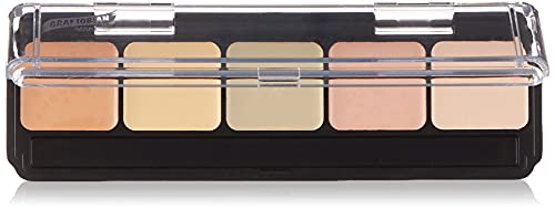 HD Glamour Creme Palette, Corrector Light by Graftobian