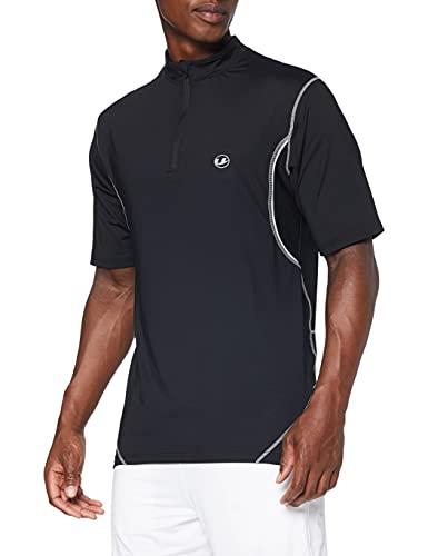 Ultrasport Advanced Camiseta funcional para deporte, ocio, fitness y running, insertos de malla para un buen clima corporal, ajuste cómodo gracias al elastano, función de secado rápido, Hombre
