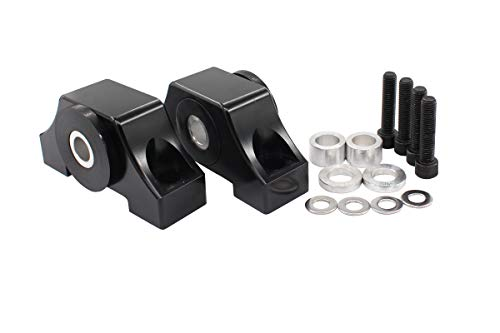 Black Engine Billet Motor Torque Mount Bracket kit for B16 B18 B20 D16