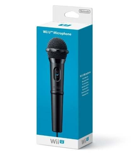 Nintendo - Accesorio wii u - microfono