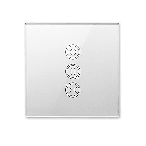 Interruptor De Cortina Interruptor de Cortina WiFi para Cortina eléctrica Cortina persiana Enrollable Control de Voz Interruptor Persianas WiFi