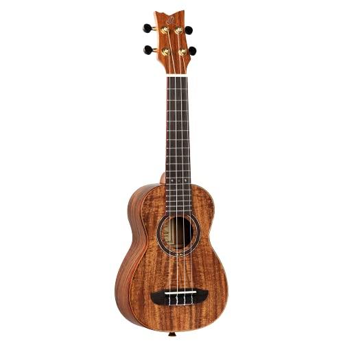Ortega guitarras ruaca-so – Ukelele soprano, color marrón