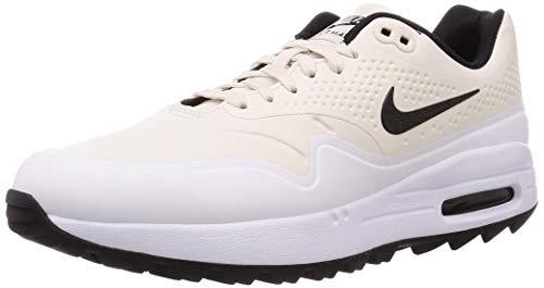 Nike Air MAX 1 G Hombre Golf Zapatos AQ0863 Sneakers Trainers (UK 7 US 8 EU 41, Phantom Black White 008)