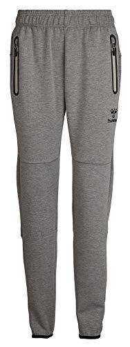 Hummel Damen Classic Bee Wo Neo Pants, Grey Melange, XXL