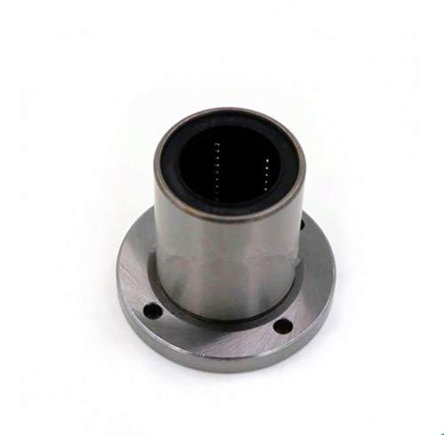 WEISHAN Accesorios para impresora 3D 5pcs LMF16UU Rodamientos lineales Buje lineal Flang Motion Ball Router Eje grabado Máquina deslizante Rolling CNC Impresora 3D Automation Parts