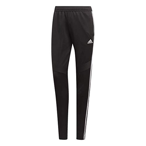 adidas Women's Tiro19 Training Pants, Black/White, Medium