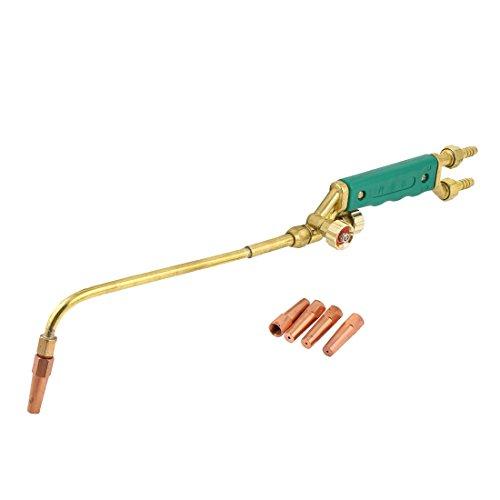 Sourcingmap - Verde del tipo de inyección de plástico de soldadura de oxígeno acetileno antorcha de corte