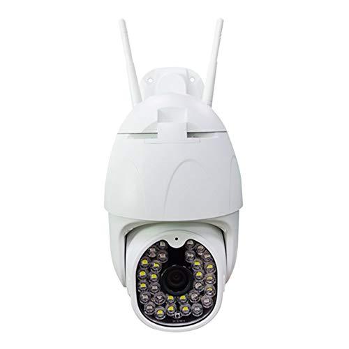 Überwachungskamera IP Kamera Indoor Camera 1080P HD Nachtsicht Kabellos W-LAN Wasserdicht Draussen Zuhause Monitor Handy-Fernbedienung Überwachungskameras (1080P+128GB)
