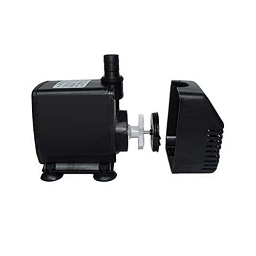 JIAN Tauchpumpe 3500l / h 80w Wasserpumpe mit 11,5ft hohem Aufzug für CNC-Spindelmotor Miniatur-Foutains Klimatisierungsventilator Exquisite
