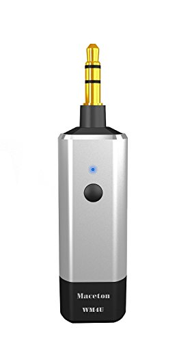Maceton WM4U アルミ高音質Bluetooth4.1受信機 Bluetoothレシーバー CSR8645チップ採用APTX対応 内蔵アメリカTIアンプチップ  8時間連続再生対応