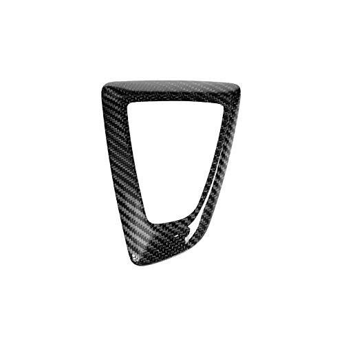 CFS Karbonfaser-Aufkleber für Schalthebelabdeckung, Aufkleber für BMW F20 F30 F31 F34 1 2 3 4 5 Serie 2012–2018 (rechte Handfahrt) (Schalthebel, RHD)