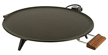 Bethany Griddle Heritage 1450 W 16 In. Dia. Silverstone Non-Stick, Wood Handles
