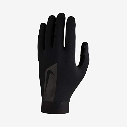Nike Hyperwarm Academy Soccer Gloves (Black, L)