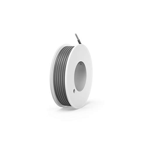 NorthPada 24 AWG 0,2 mm/² Kit de Alambres el/éctricos electr/ónicos Cable de cobre esta/ñado de PVC s/ólido 2 colores Carrete de bajo voltaje 2 x 10 metros
