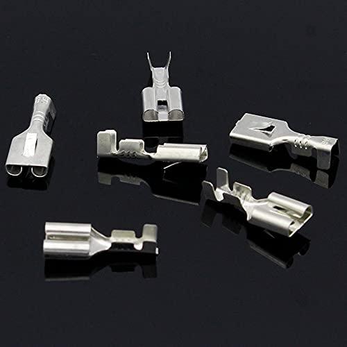 KIMLLOYD 6.3mm Female Crimp Terminal Connectors,Automotive Conne