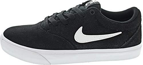 Nike SB Charge Suede, Scarpe da Ginnastica Uomo, Black Black White, 45.5 EU