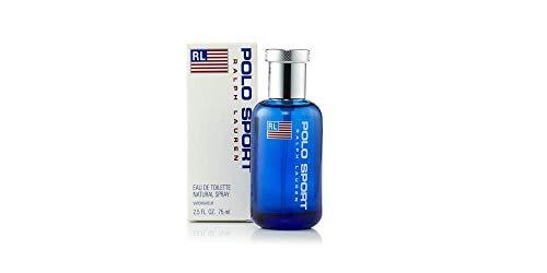 Polô Sport Cologne Eau De Toilette Spray Perfume, for Man EDT 2.5 fl oz, 75 ml