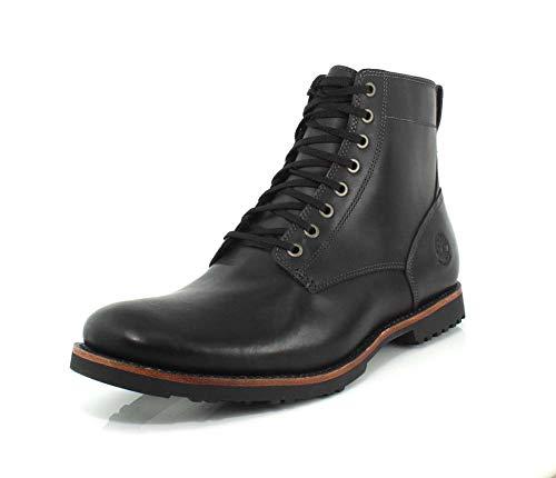 Timberland Kendrick Side Zip Waterproof Boot Black Full-Grain 9