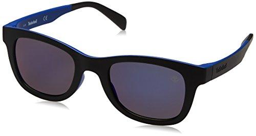 Timberland Sonnenbrille TB9080 5091D Occhiali da Sole, Nero (Schwarz), 50 Uomo