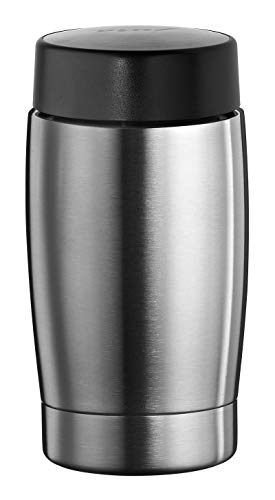 Jura 68166 Edelstahl-Isoliermilchbehälter 0,4 L, 17 x 8 cm
