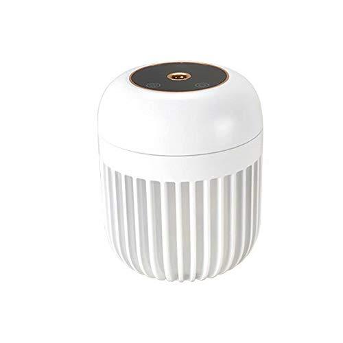USB Desktop Humidifier Waterless Auto Shut-Off Bedroom Cool Mist Humidifiers Quiet Portable Mini Humidifier,600ml Small Cool Mist Humidifiers with ambient light,2 gear mist modes