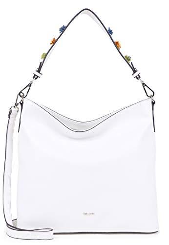 Tamaris - Borsa a tracolla da donna, taglia unica, colore: Bianco