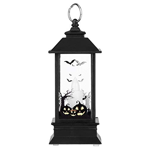 Haofy verlichting voor Halloween, simulatie, licht, vlamm, kleine olielamp, kaars, pompoenlicht, slot, Halloween, party, festival, decoratie, cadeau 南瓜