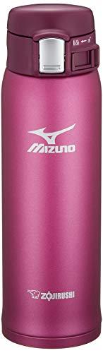 象印 水筒 直飲み 軽量ステンレスマグ 「MIZUNO」モデル 480ml ワインレッド SM-SM48-VR