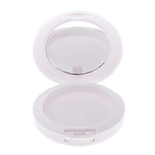 Palette de Maquillage Vide Récipient Cosmétique Outil de Mélange pour Fard à Paupières Fard à Joues Rouge à Lèvres DIY - blanc
