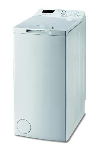 Indesit BTW S6230P IT/N lavatrice a carica dall'alto a libera installazione, 6 kg, D