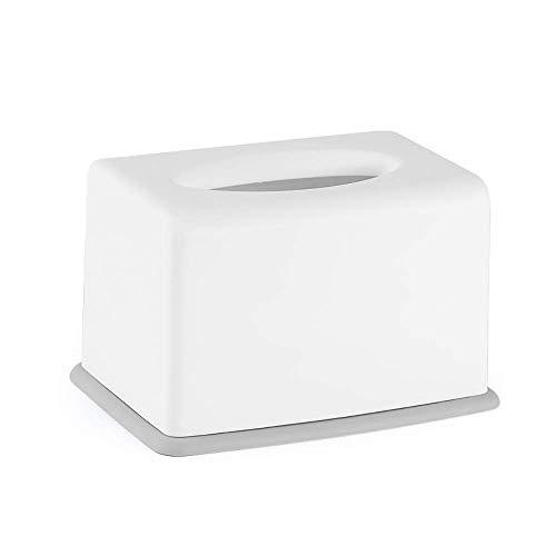 COLiJOL Soporte de Papel Caja de Pañuelos Organizador de Servilletas de Papel Caja de Alenamiento de Pañuelos Accesorios para el Hogar para Oficina