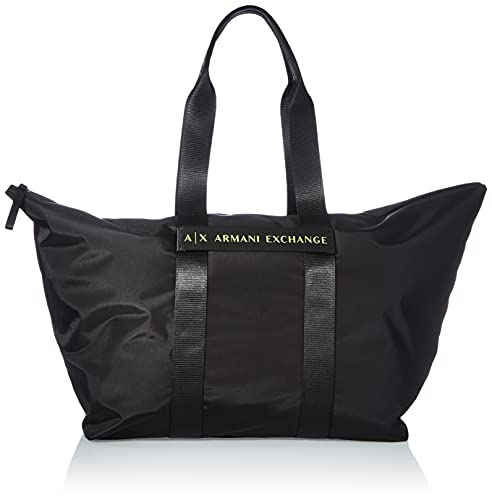 Armani Exchange Femme Big Shopping Taille Unique - Noir - noir, Taille unique