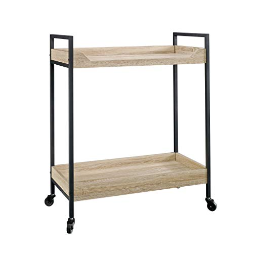 Sauder North Avenue Cart, Charter Oak finish