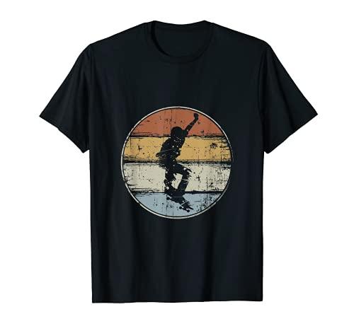 Skateboard Vintage Skater Retro Skateboarder T-Shirt