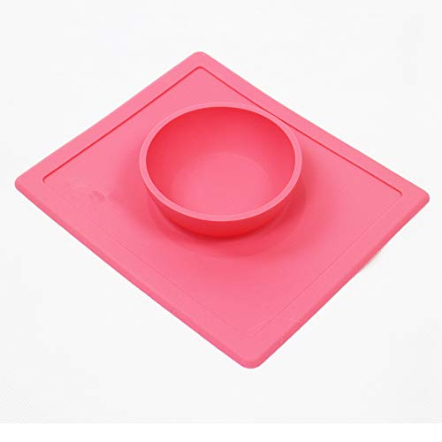 MYYXGS Un Juego de ventosas 1 para Perros y Gatos - Material de Silicona A Prueba de Fugas Seguro para Agua y Alimentos - Múltiples Colores 26 * 22.5 * 3.8 cm