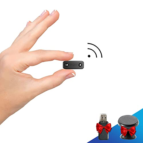 【Heimachuangyou】 Spy Camera Hidden WiFi Cameras HD 1080P Smallest Mini Security Camera with Phone App for Home Indoor Tiny Portable Secret Nanny Cam with Auto Night Vision/Motion Detection Alerts