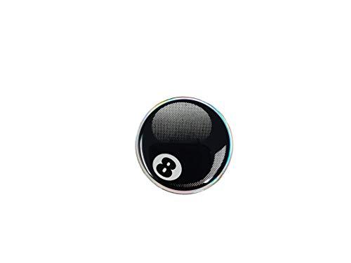 quattroerre 14036Sticker adhesivo 3d bola de billar 8