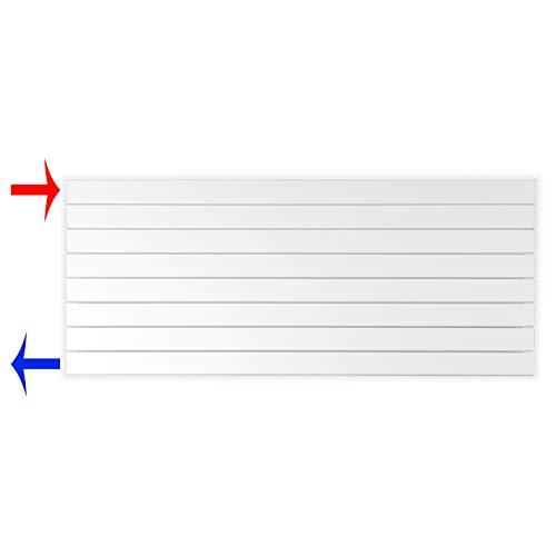 Design Paneelheizkörper Heizkörper Badheizkörper horizontal 602 x 1400 seitlicher Anschluss (937 Watt nach EN442)